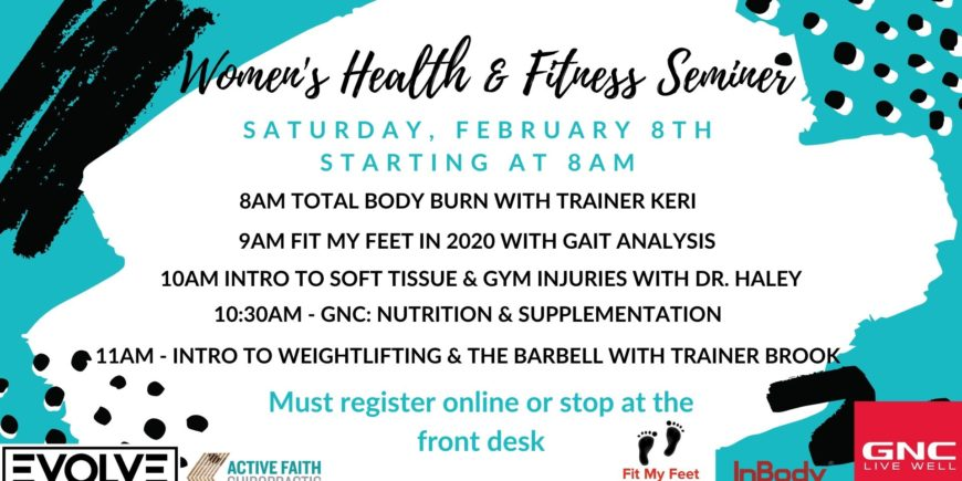 Women's Health & Fitness Seminar