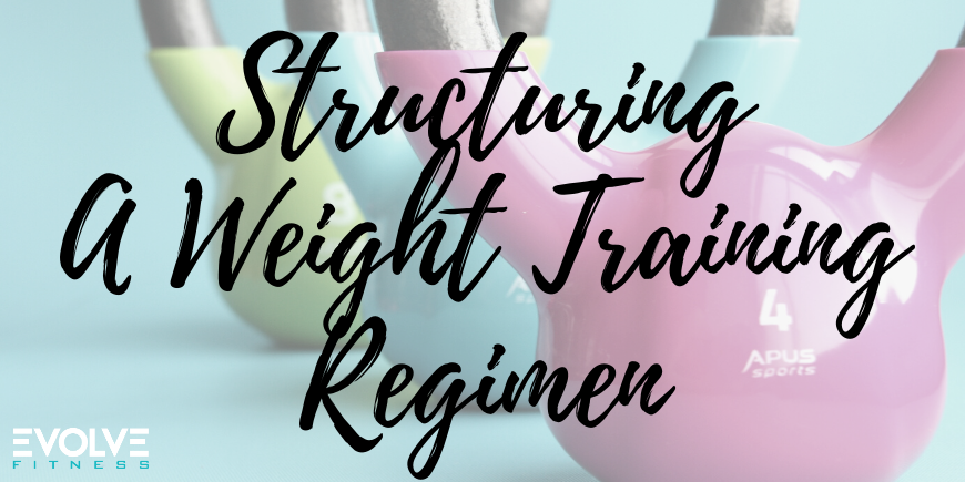 Structuring A Weight Training Regimen
